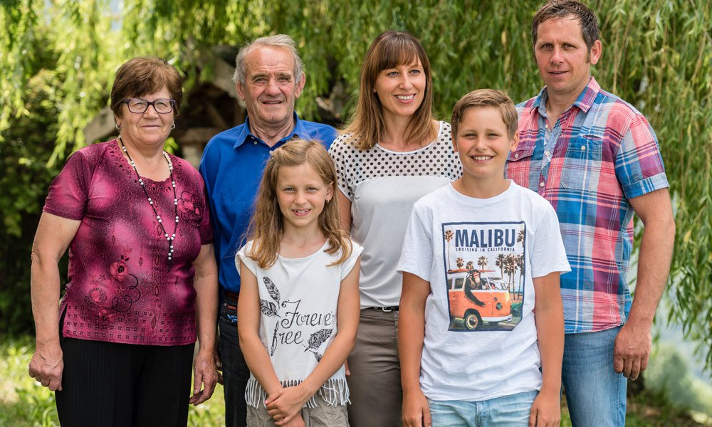 Since 2007 we, Burghard and Margit, have run the Gasserhof, although our parents, Rosa and Johann, are still very much involved.