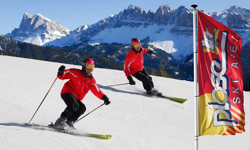 Pures Skivergnügen auf dem Hausberg von Brixen